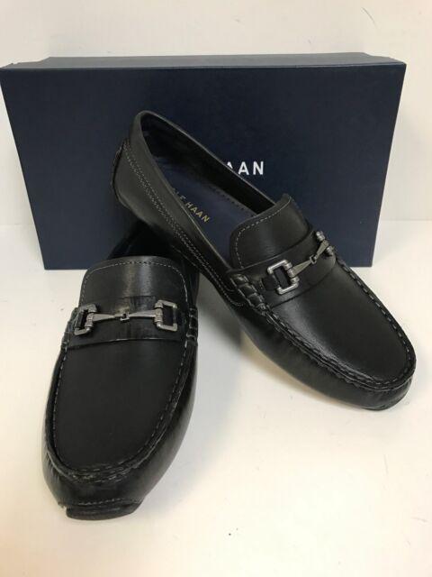 fe81302691f Cole Haan Men s Kelson Bit Driving Shoes US Sz 11.5 M Black Leather ...