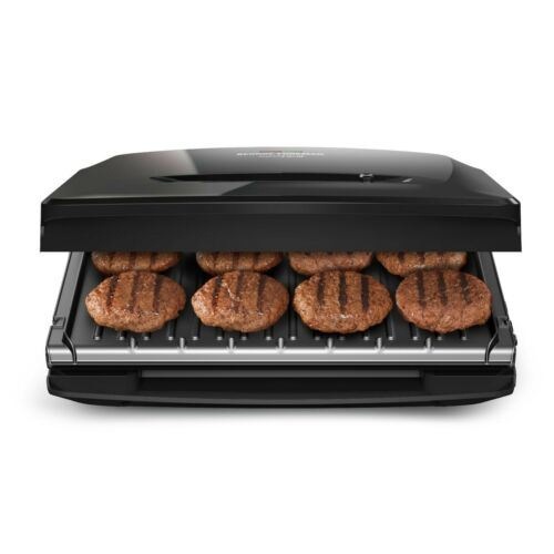 George Foreman Rapid Grill Series 8-Serving Indoor Grill /& Panini Press