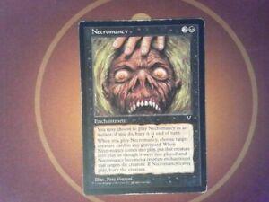 Necromancy - Visions  - Magic the Gathering MtG