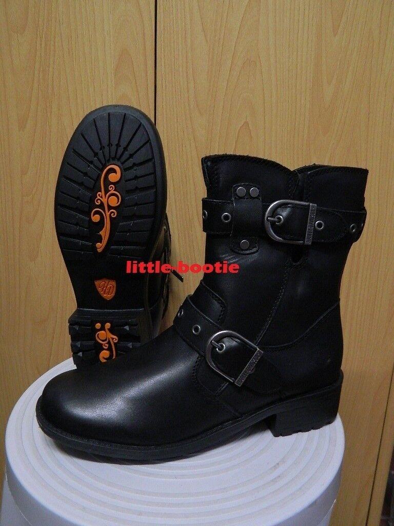 Harley-Davidson Stiefel Stiefel schwarz Leder Damen Gr. 38 oder 40 - 83728 Grace