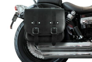 packtasche leder harley davidson dyna streeb bob fat bob. Black Bedroom Furniture Sets. Home Design Ideas