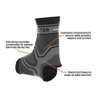 """Shock Doctor Ankle Support, Knöchelschützer """"compression Knit"""" Schwarz. Sport"""