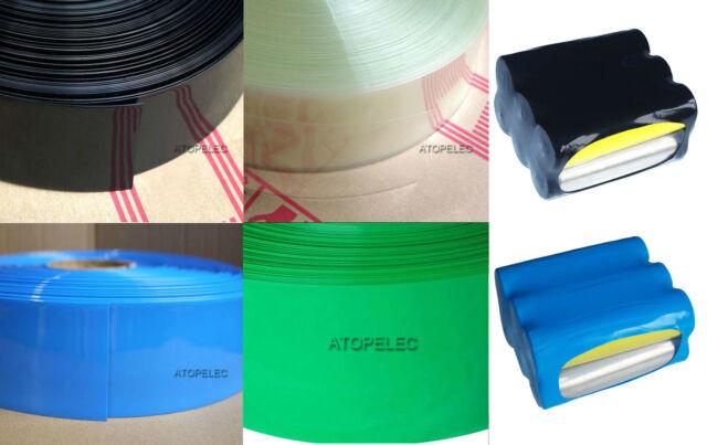 2M PVC Heat Shrink Tubing Wrap Lipo Li-ion Ni-MH NiCd RC Battery Pack