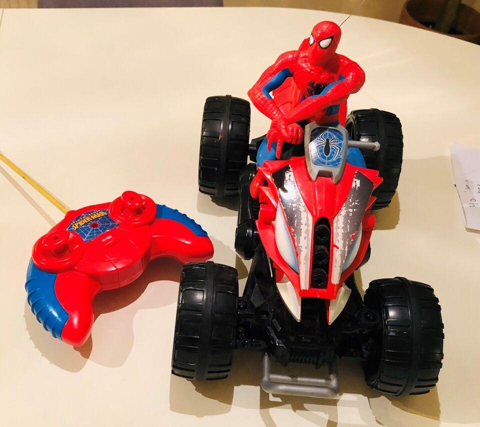Fjernstyret motorcykel, fjernstyret, Spidermann