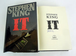 Stephen-King-Signed-Autograph-It-1st-Edition-1st-Printing-Hardcover-Book