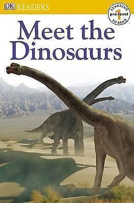 1 of 1 - Dorling Kindersley, Meet the Dinosaurs (DK Readers Pre-Level 1),  Book