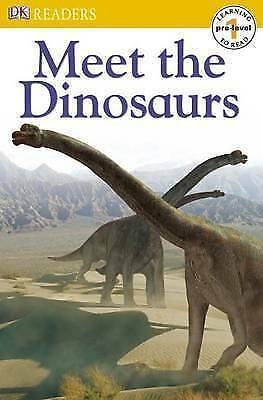 Meet the Dinosaurs (DK Readers Pre-Level 1)-ExLibrary
