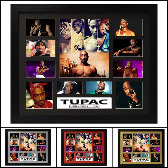 Tupac 2pac Signed Framed Memorabilia Limited Edition 2017 - Multiple Variations