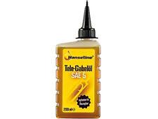 (4,30€ pro 100 ml) Hanseline Fahrrad Federgabel Öl SAE 5, 200 ml Flasche Neu
