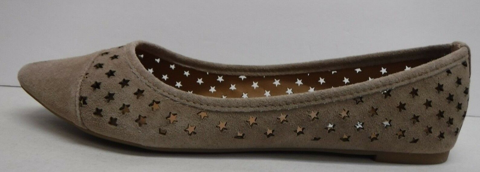 Steve Madden Taille 8 Taupe Suede Loafer Flats New femmes chaussures