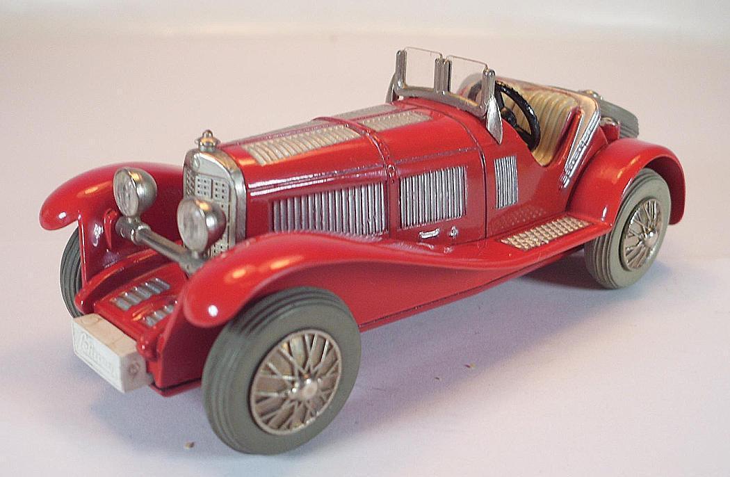 Schuco - racer - 1043   1 mercedes typ ssl 1928 verrotten vintage 60er jahre   1387.