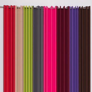 senschal fenstervorhang 10 farben 145 175 225 250 cm gardinenschal ebay. Black Bedroom Furniture Sets. Home Design Ideas