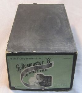 Vintage Splicemaster Model SP-3 8 mm film Circa 40's-50's
