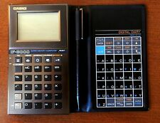 RARE Vintage NOS Casio IF8000 LCD touch screen pocket computer calculator