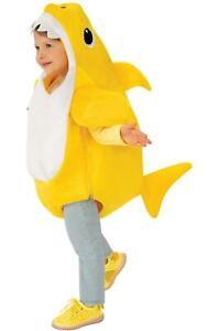 Baby Shark Kids Fancy Dress Sea Animal Song Character Boys Girls Toddler Costume