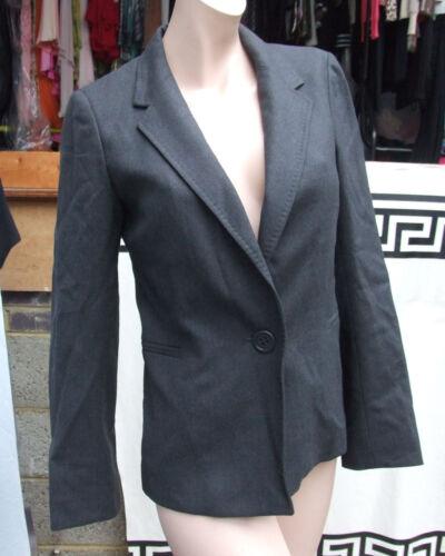 Uk 8 Bella S senza giacca Blazer Classic grigio tempo Joseph Designer abito 70qwg0U