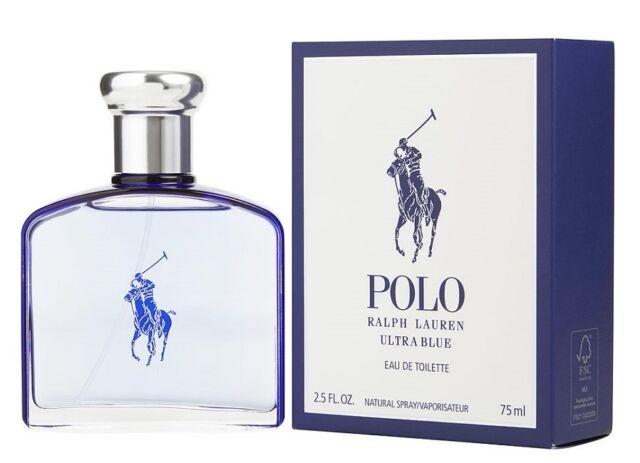 Ralph Lauren RL Polo Ultra Blue For Men Cologne 2.5 oz ~ 75 ml EDT Spray