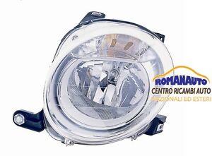 * FARO Anteriore Superiore SINISTRO H7 FIAT 500 2007 > (Proiettore Fanale)