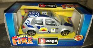 Modellino-Burago-Volkswagen-Golf-Rally-scala-1-43
