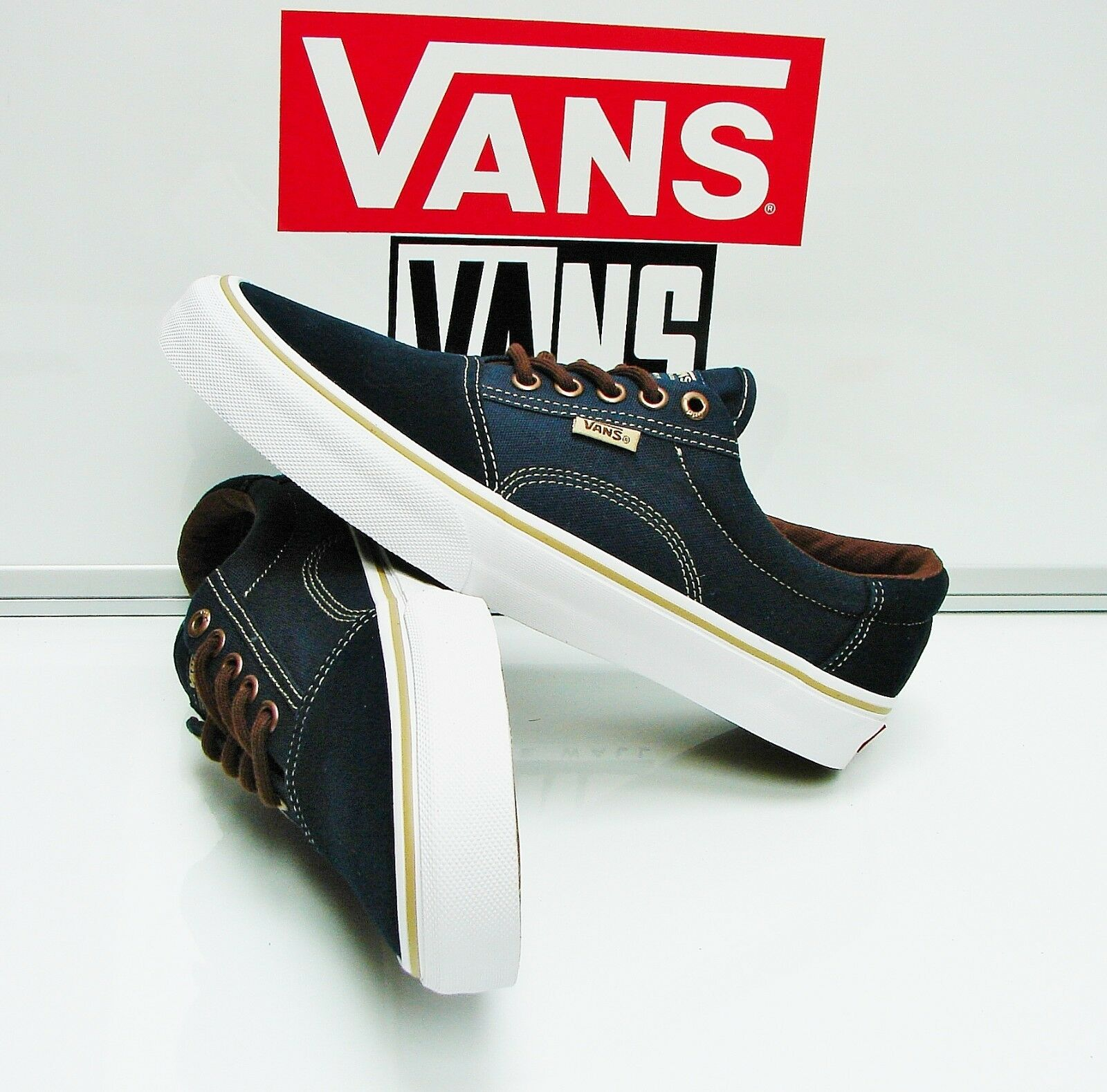 Vans Rowley Solos Dress Size: Blues Brown VN00018KI53 Men's Size: Dress 8.5 6f34ff