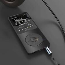"1.8"" TFT Black RuiZu X02 HiFi 4G MP3 MP4 Music Player FM Recorder TF Card US LN"