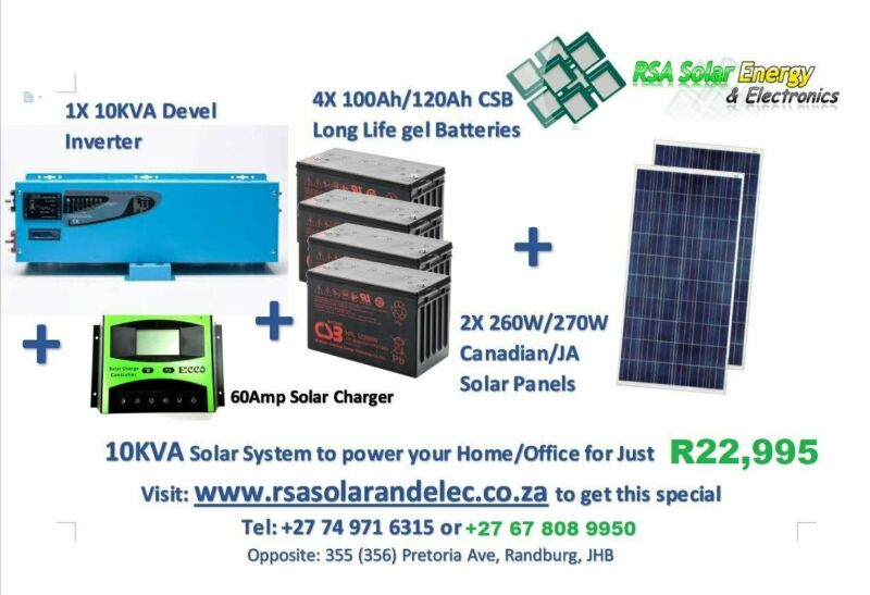 10KVA SKYKING SOLAR SYSTEM TO POWER YOUR HOME OFFICE