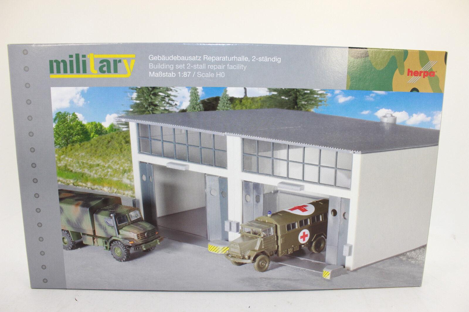hasta un 60% de descuento Herpa 745857 Kit de Construcción Reparaturhalle Grande Sala Camión 1 1 1 87 H0 Nuevo  colores increíbles