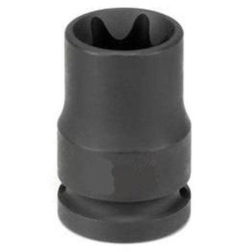 "Grey Pneumatic 2120ET 1//2/"" Drive x E20 External Star Impact Socket Socket"