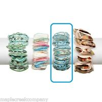 Turquoise Stretchy Shell Bracelet One Size Fits Most Fun For Summer Real Shells