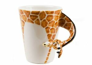 bbb9fe174c8 Details about Giraffe Gift, Coffee Mug Handmade by Blue Witch