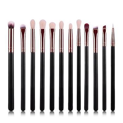 12pcs Makeup Brushes Set Foundation Powder Eyeshadow Eyeliner Lip Brush Tool US
