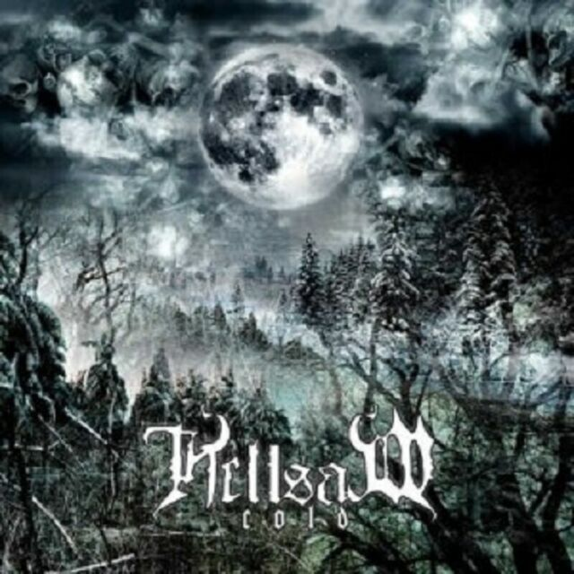 "HELLSAW ""COLD"" CD+DVD BLACK METAL NEW"