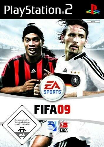 PS2 / Sony Playstation 2 jeu - FIFA 09 dans l'emballage utilisé