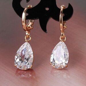 Wonderful-bling-bling-white-sapphire-18k-gold-filled-modish-dangle-earring