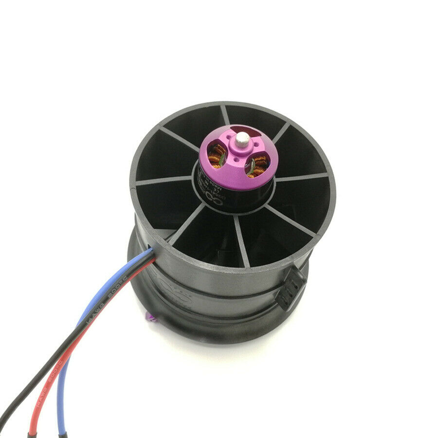 90mm 12-blades Duct Ducted Fan EDF 6S 6S 6S 8S 1450KV 1100KV Motor for RC Jet Airplane 924893