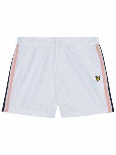 Lyle /& Scott White Side Stripe Swim Shorts
