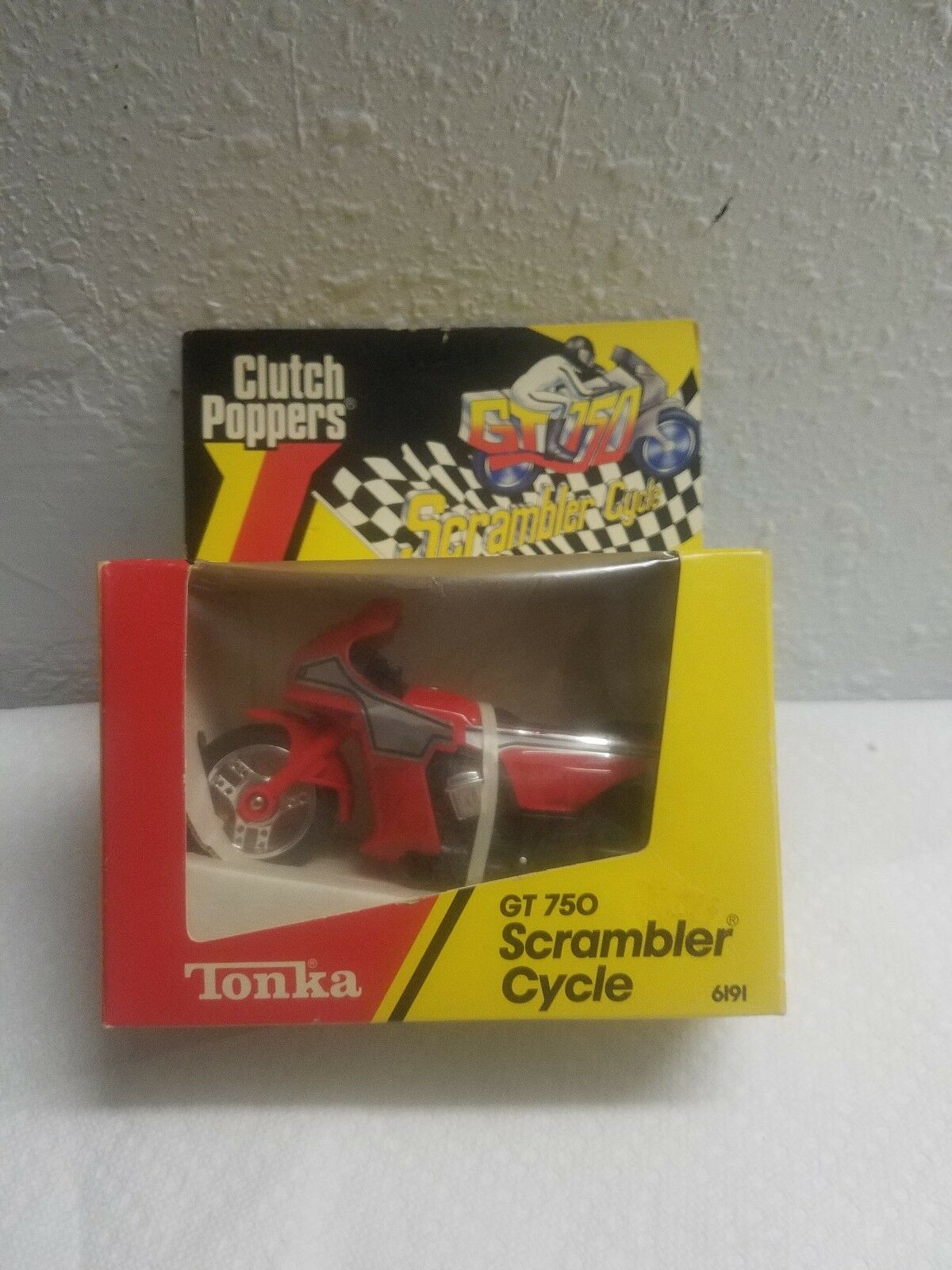 1984 Clutch Poppers Gt 750 Scrambler Cycle No. 6191 (RARE ) Hard to find