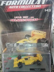 LOTUS-100T-NELSON-PIQUET-1988-FORMULA-1-AUTO-COLLECTION-143-1-43-MOC