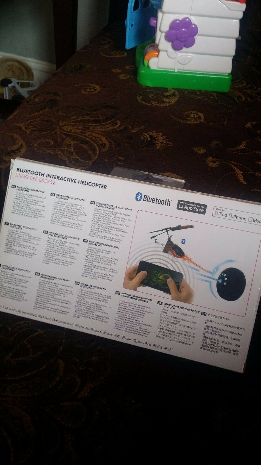 BeeWi BeeWi BeeWi StingBee  blueetooth Phone Remote Control Interactive Helicopter For Apple 91265c
