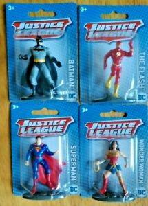 Monogram Justice League DC Comics Mini Figure Figures Super Hero Cake Topper