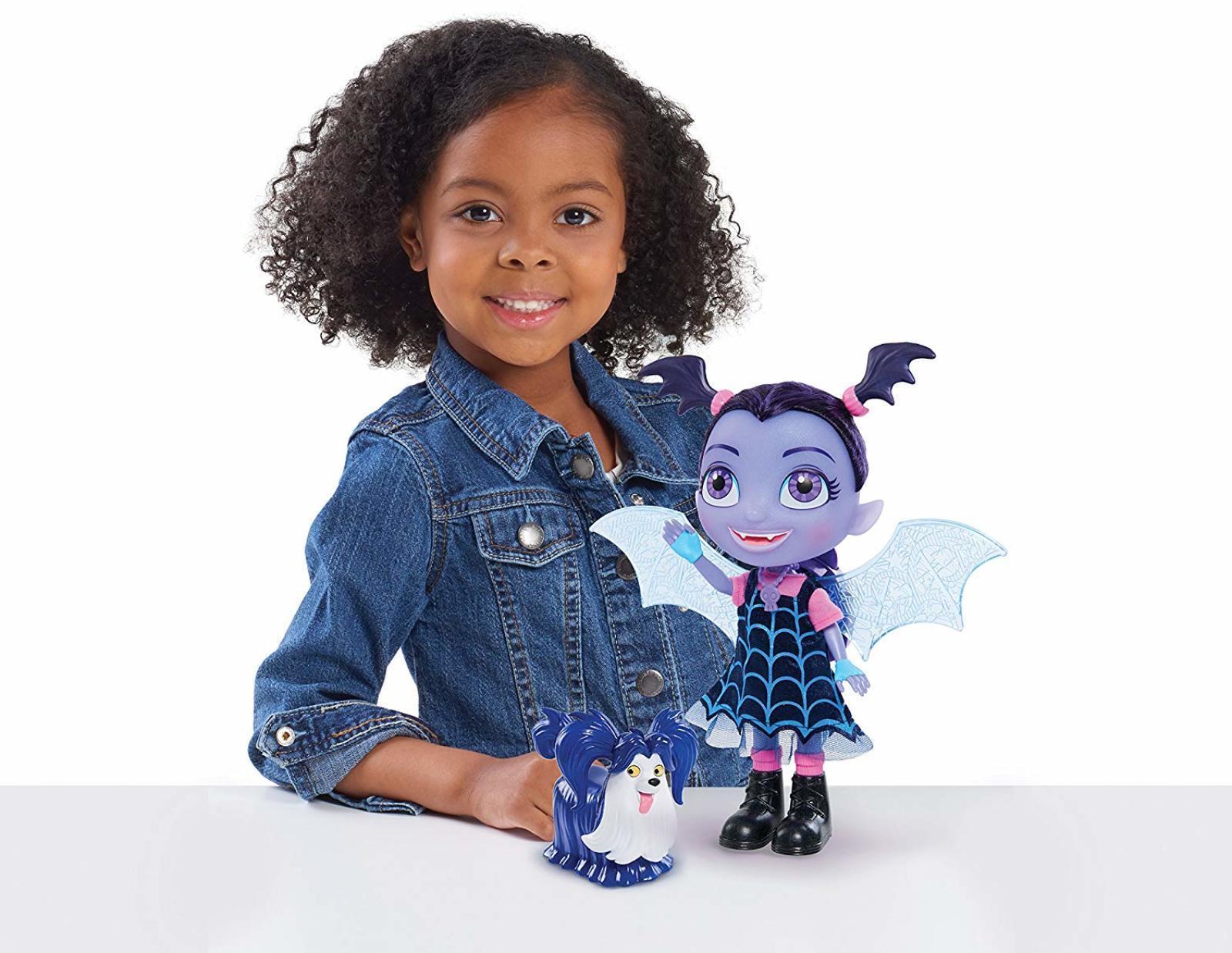 Bat-Tastic Talking Vampirina Doll And Wolfie Play Set Toy Vee Figure Girls Gift