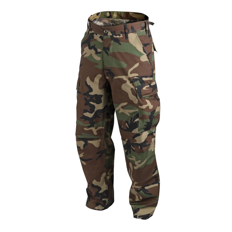 HELIKON TEX US BDU woodland camouflage Army Outdoor Hose pants XLL XLarge Long