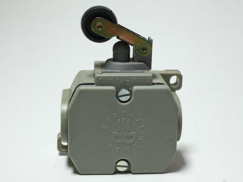 Robotron VEB DDR Positionsschalter Endschalter Schalter mit Rolle Rollenhebel