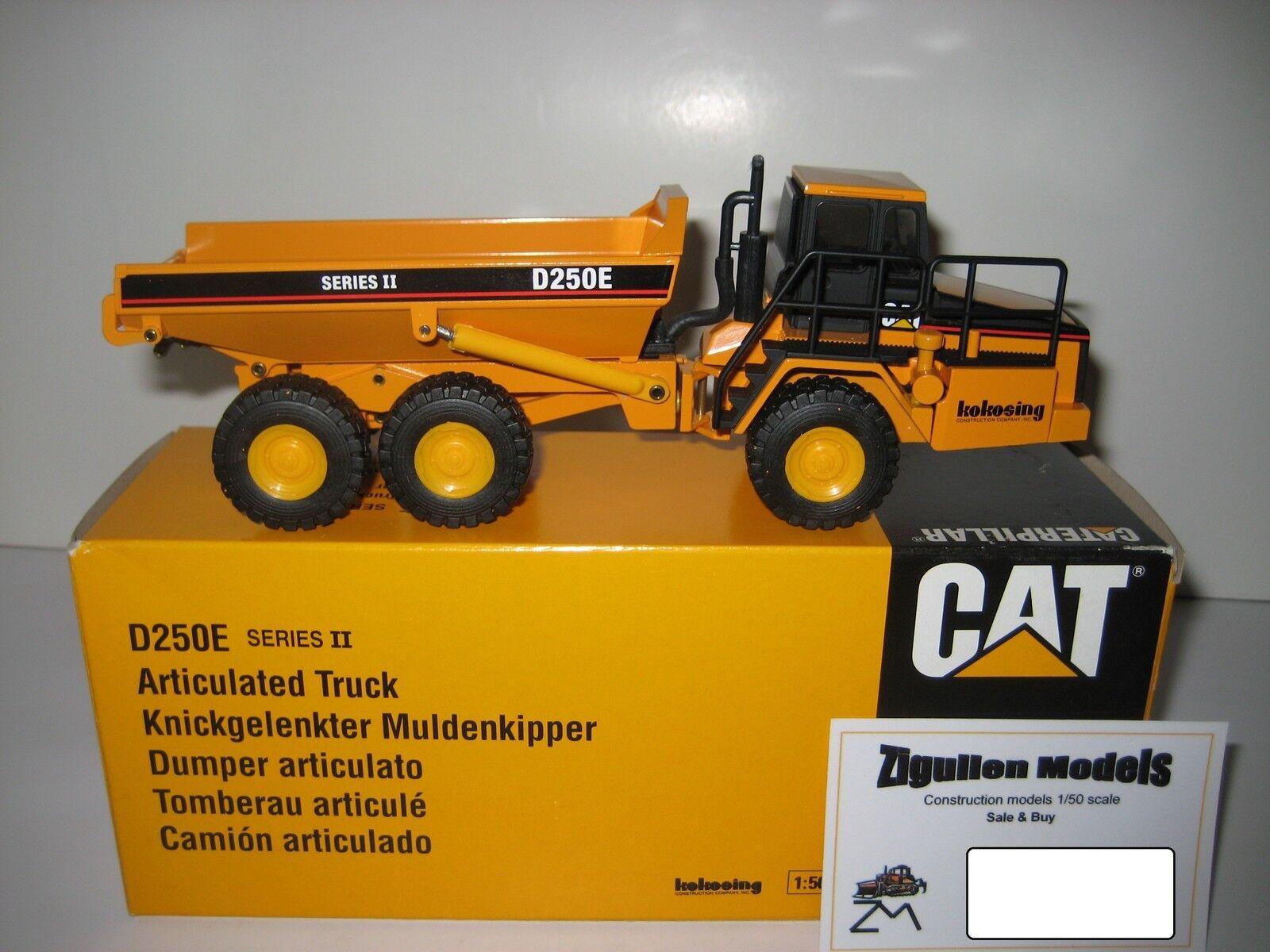 Caterpillar D 250 E tombereaux KOKOSING  4131 NZG 1 50 neuf dans sa boîte