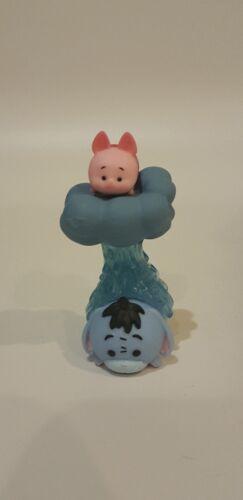 Disney Vinyl Stackable Tsum Tsum Series 1 Medium Eeyore Cloud #156 and Piglet