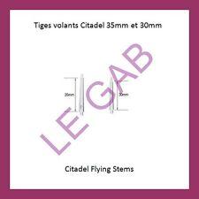 BAJ-TG01 CITADEL FLYING STEMS WARHAMMER TIGES VOLANTS 35mm 30mm