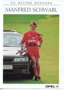 Autogramm-Manfred-Schwabl-Bayern-Muenchen-1990-1991