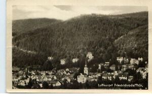 FRIEDRICHRODA-Thueringen-1945-Foto-AK-Panorama-Karte