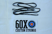 50 12 Strand Black Dacron B50 Longbow Bowstrings By 60x Custom Strings Bow