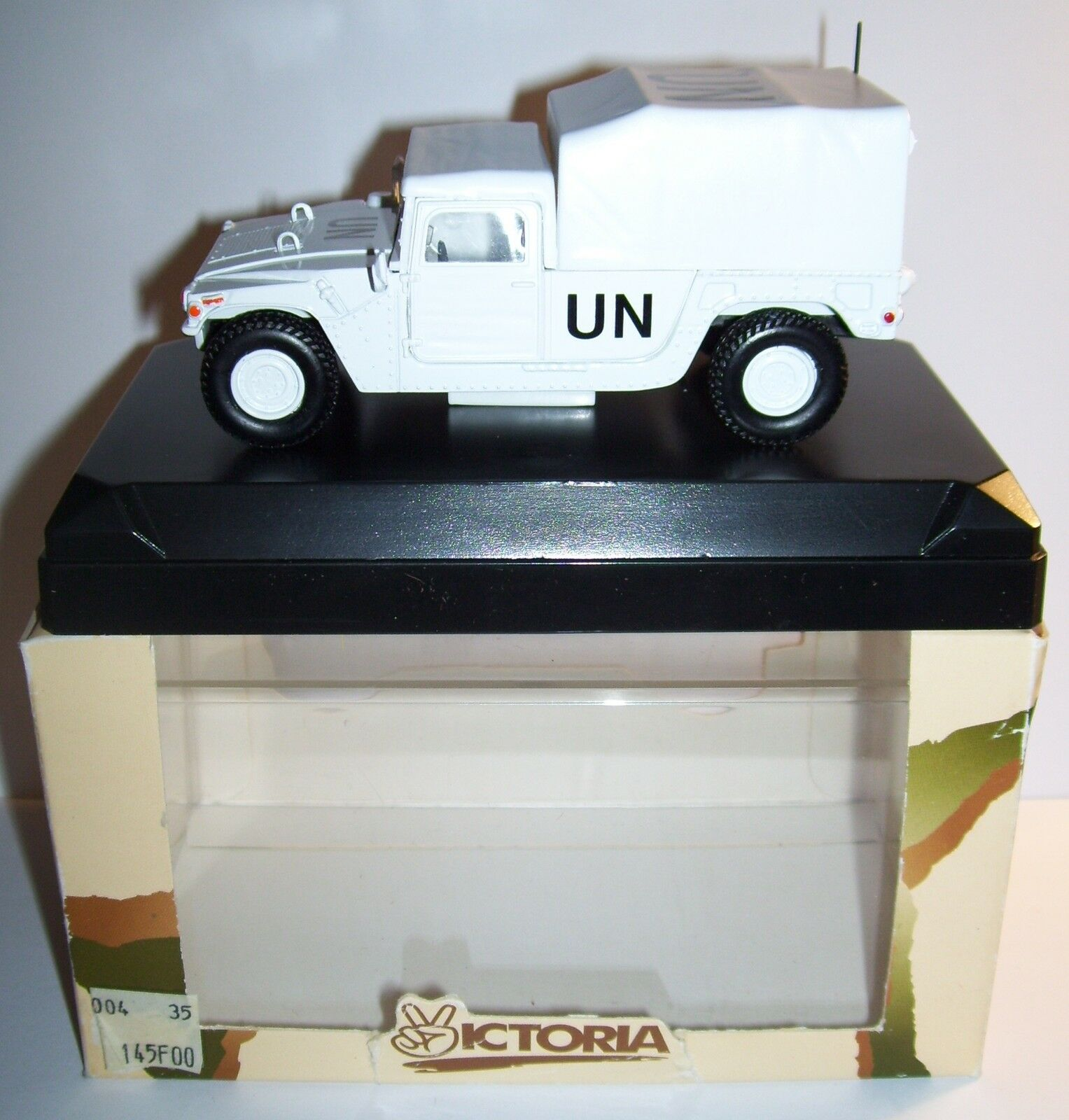 RARO VICTORIA BY VELOCIDAD HUMMER UN UNITED NATIONS UNIDAS 1 43 REF R004 EN BOX